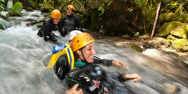 Canyoning in Val di Sole
