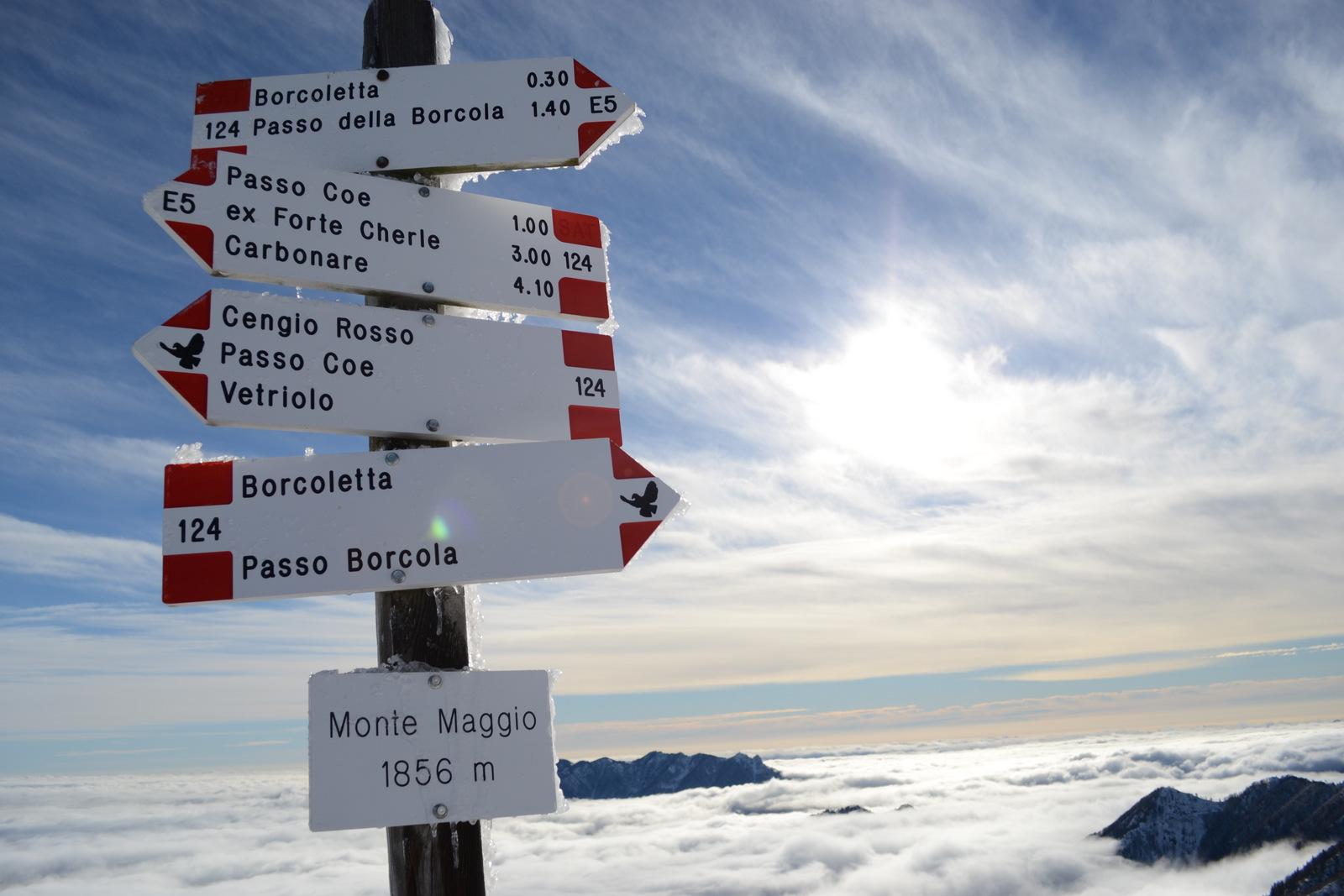 Monte Maggio – Alpe Cimbra
