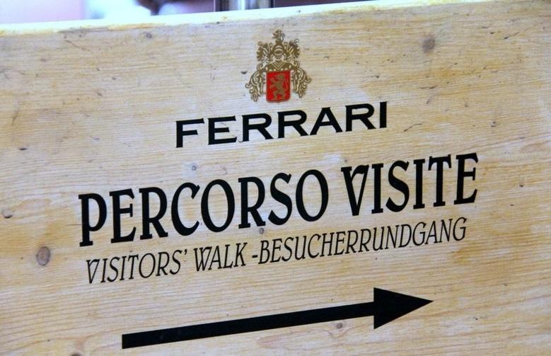 Visita alle Cantine Ferrari